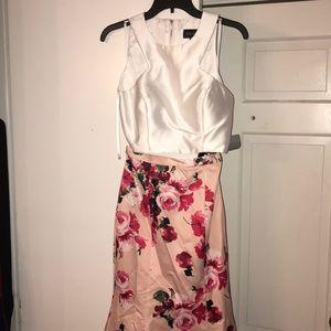 Xscape 2 piece brand new prom dress